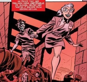 Mad Love - Escaping from Arkham Asylum - The Joker and Harley ...