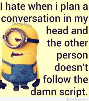 Minions quotes, funny minions cartoons sayings 2015 2016