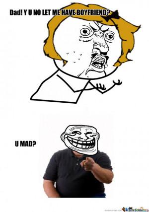Funny Overprotective Dad Meme
