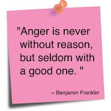Anger Is Never without reason,but seldom with a good One ~ Anger Quote