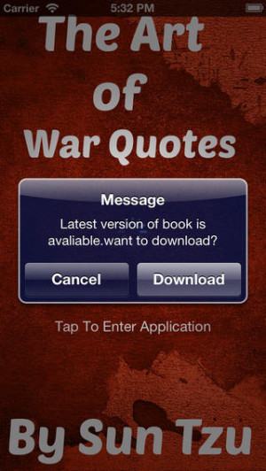 Download The Art of War Quotes iPhone iPad iOS