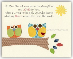 Owl Family Quotes | Source: http://www.etsy.com/listing/84558139/baby ...