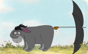 ... Disney cartoon of AA Milne's Eeeyore from his Winnie The Pooh stories