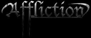 Affliction clothing line font style.