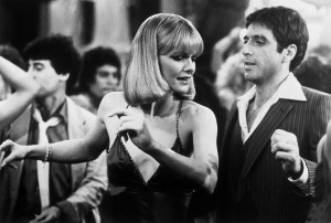 ... and Michelle Pfeiffer as Elvira Hancock - Scarface Movie Still 6