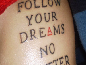 Latest Text Quotes Tattoos Art Design Collection 2013 For Girls