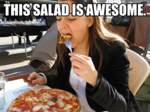 You guys think pizza is a vegetable.