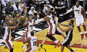 During Game The Nba Finals
