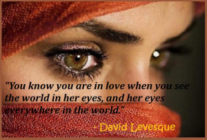 love and eye relationship quote