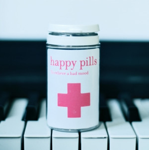 happiness, happy, piano, pills, quote, quotes, saying, true, words