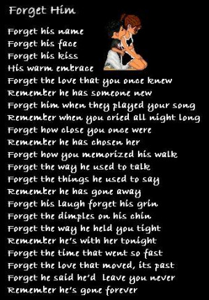 Myspace Graphics > Quotes > forget him Graphic