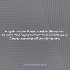 Customer loyalty vs. Customer retention