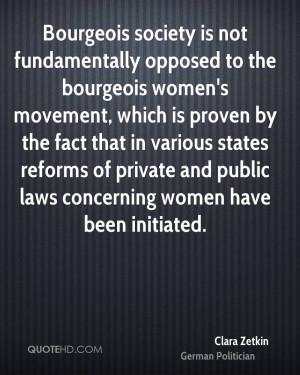 Clara Zetkin Quotes