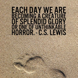 lewis more food for thought splendid glories lewis quotes deseret ...