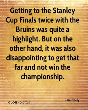 Stanley Cup Funny Quotes