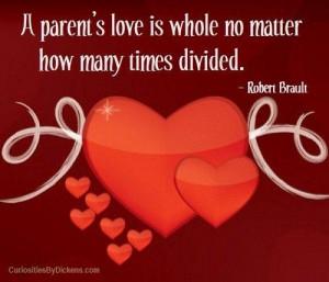 Quotes about parents love a parents love