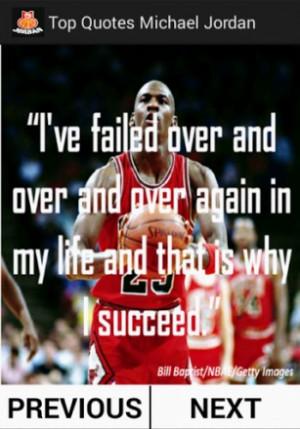 View bigger - Top Quotes Michael Jordan for Android screenshot