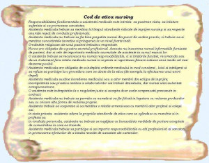 Code Ethics For Nursing In Romanian Language Picture