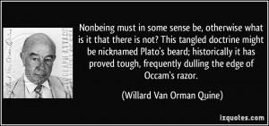 More Willard Van Orman Quine Quotes