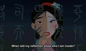 awesome, cute, disney, disney movie, favorite, movie, mulan, quote ...