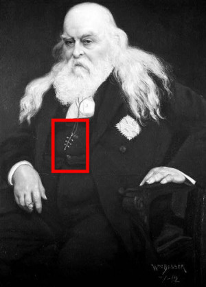 Remember me speaking of Albert Pike? This is him, and please take note ...