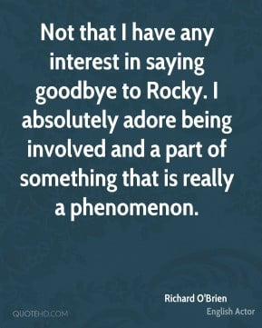 Saying goodbye doesn't mean anything. It's the time we spent together ...