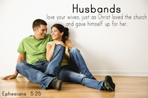 Husbands, love your wives, image courtesy of