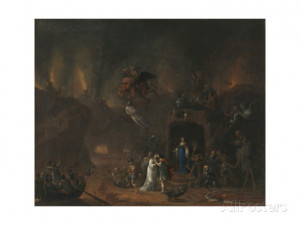 Orpheus and Eurydice in the Hell Giclee Print