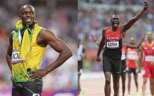Battle of the champions: Usain Bolt and David Rudisha are the greatest ...