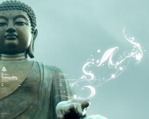 Papel de parede 'Buda'
