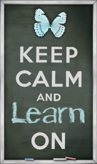 keep calm and learn on button free chalkboard keep calm and carry on ...