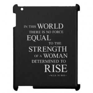 Determination Quotes iPad Cases