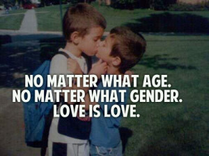 gay, love, little boys, quotes, gay pride - inspiring picture on Favim ...
