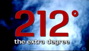 at 211 degrees the water is hot at 212 degrees it boils and with ...
