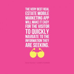 Responsive Websites Verses Mobile Friendly Real Estate Apps