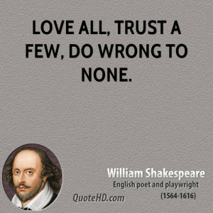 William Shakespeare Quote Love