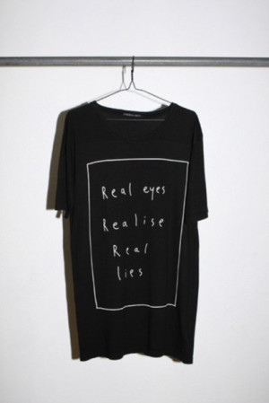 shirt shirt quote on it quote on it black style cool clothes tweet ...
