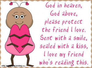 Prayer for the friends