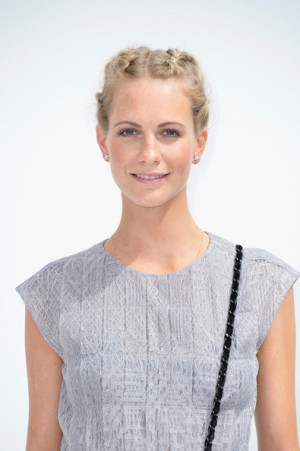 Poppy Delevingne Poppy Delevingne attends the Chanel show as part of