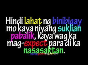 Love quotes Tagalog, Quotes, Emo Quotes, Happy Tagalog Love Quotes ...