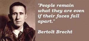 Bertolt brecht famous quotes 5