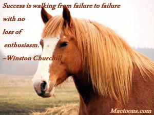 Inspire Positive Behavior: Palomino Horse Portrait With Quote