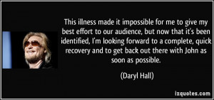 More Daryl Hall Quotes