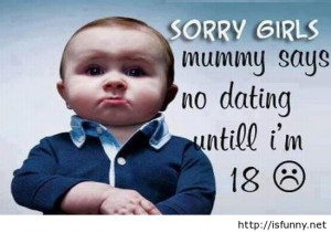 Funny cute baby boy quote