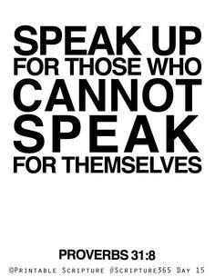 Proverbs 31:8 More