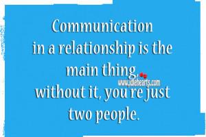 relationship no communication