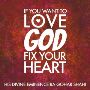 The Official MFI® Blog Quote of the Day: 'If you want to love God ...
