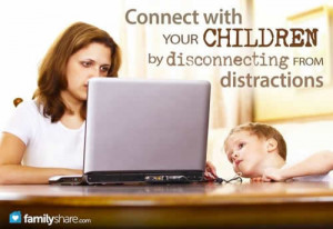 ... attention of their parents, but technology is a constant distraction