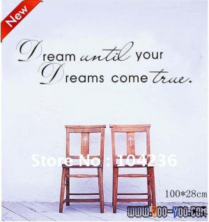 ... Quote /Vinyl Wall Decals :28*100cm/40''*11''Removable Waterpoof Wall
