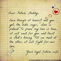 dear future husband more dear future husband quotes future hubby ...